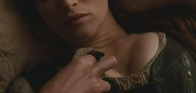 boys kissing topless girls breast